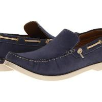 Lumiani International Collection - Watson (Navy Leather) - Footwear