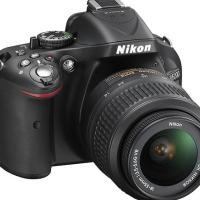 Nikon - D5200 Dslr Camera With 18-55mm Vr Lens - Black