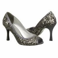 Papell Studio Women's Fantasy Shoes (Gunmetal Sequin)
