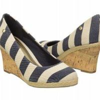 LifeStride Women's Costume Shoes (Blue/Natural Stripe)