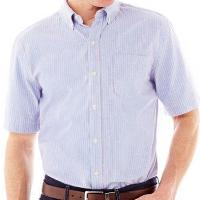 St. Johns Bay Short-Sleeve Oxford Shirt