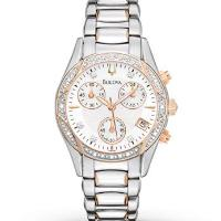 Bulova Women's Watch Diamond Accents 98R149