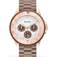 Bulova Women's Watch Sport Rose-Tone 98N103