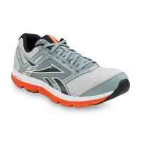 Men's Dual Turbo Fire Gray Running Athletic Shoe