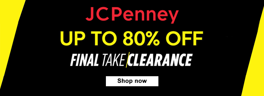 Take 25-70% off Clearance select styles