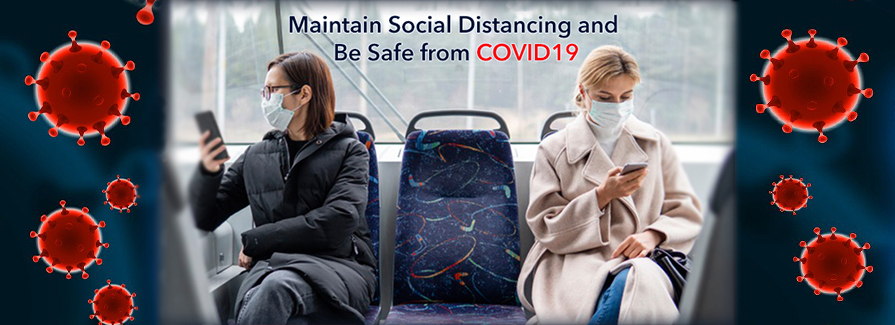 Stay Safe Stay Healthy! Let's Fight Together With This COVID-19 Pandemic