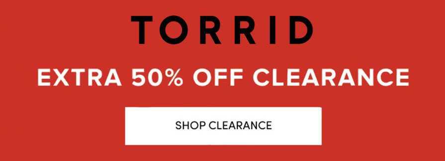 Clearance Sale! Take up to 40% off storewide
