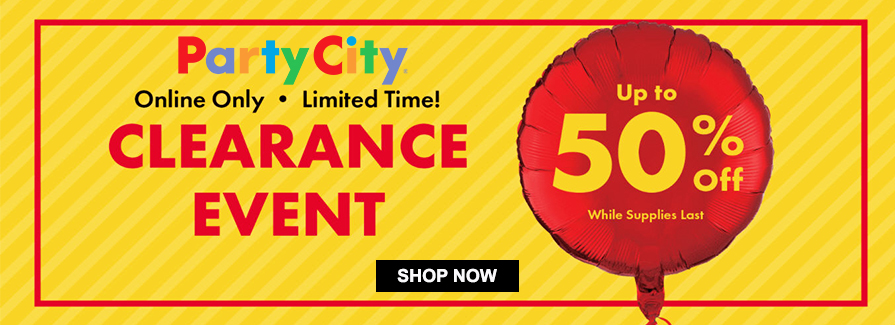 Clearance Event! Take up to 50% off