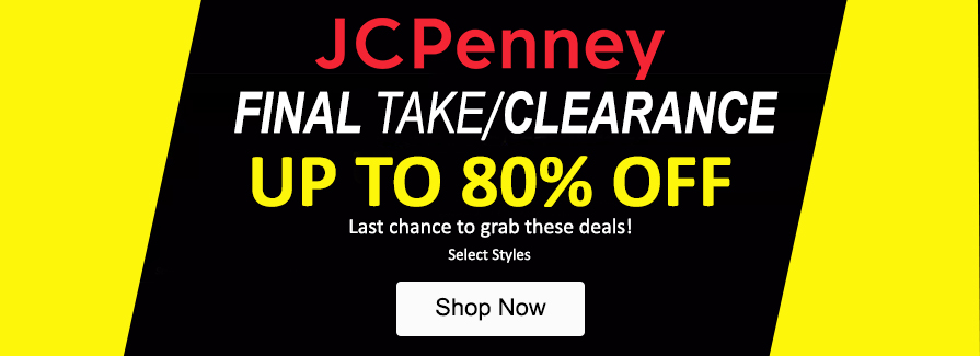 Final Take Clearance! Take up to 80% off