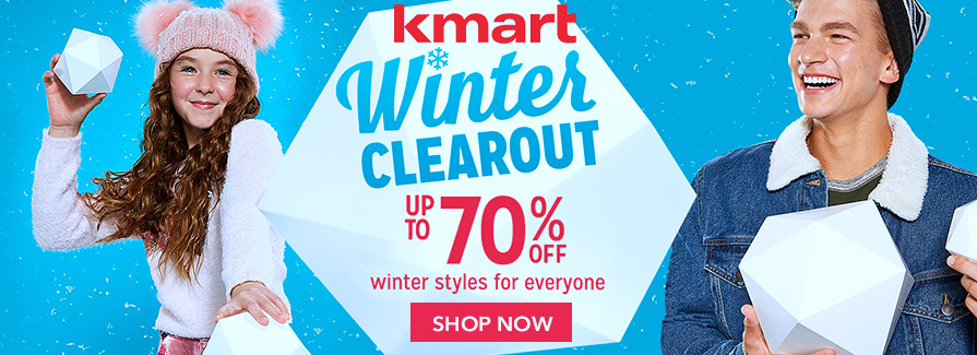 Winter Clearout! Take up to 70% off winter styles for everyone
