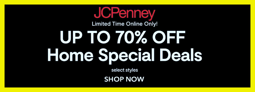 Take up to 70% off Home Special Deals