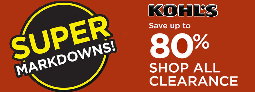 Super Markdowns! Save up to 80% | Shop All Clearance