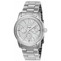 Invicta Women's Watch Angel Quartz White Mother of Pearl Dial Bracelet 11768