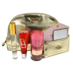 Victoria's Secret Gift Set Perfume Bronzer Gloss Summer Nights Beauty Essentials