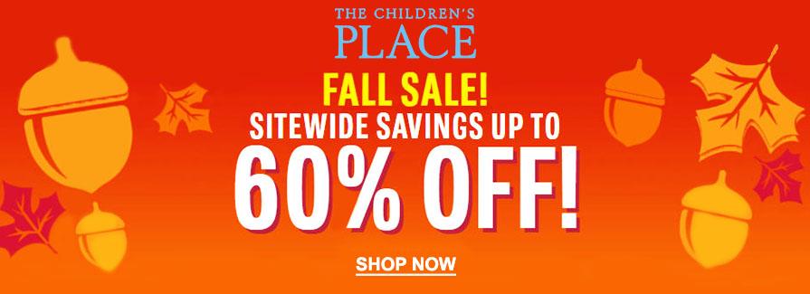 60% Off Fall Sale!