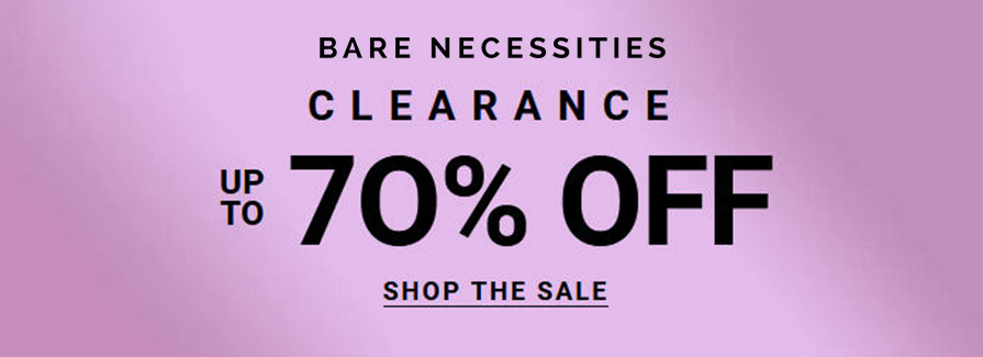 Up to 70% Off Clearance Bare