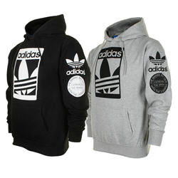 Adidas Men's Graphic Front Pocket Active Pullover Hoodie