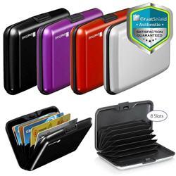 RFID Aluminum AntiTheft Minimalist ID Credit Card Holder