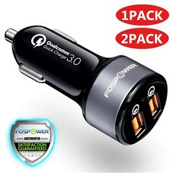 Dual Port USB Fast Car Charger