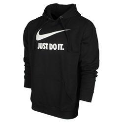 Nike Men's Just Do It Swoosh Logo Graphic Fleece Pullover Hoodie